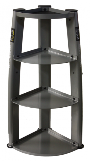 Troy USA Vertical Kettlebell Rack With Hooks - GKBR-3