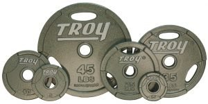 25Lb Troy USA Gray Olympic Weight Plate - O-025