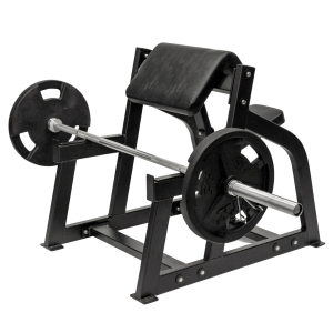 Fettle Fitness Preacher Curl Bench- Black