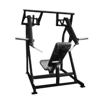 Fettle Fitness ISO Lateral Shoulder Press - Black