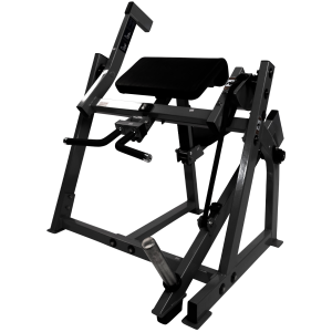 Fettle Fitness Seated Bicep Curl - Black