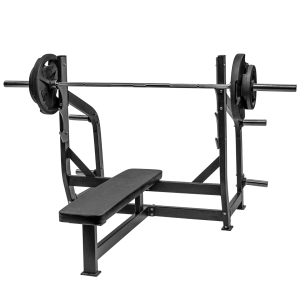 Fettle Fitness Olympic Bench - Black
