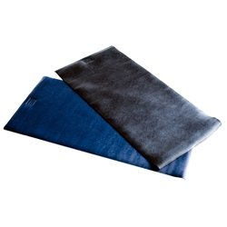 Economy Club Mat 36 in. L x 24 in. W x 1/8 in. thick Jet Black