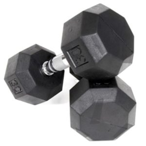 30Lb Troy VTX Rubber Coated Dumbbell - SD-030R