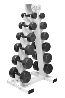 Troy VTX A-Frame Rack with Cast Dumbbells - VERTPAC-SDV30