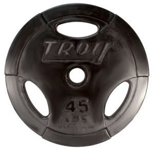 2.5Lb Troy Rubber Coated Grip O Plate - GO-002R