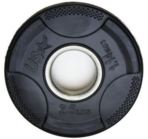 2.5Lb Troy USA Rubber Grip Plate - GP-002R