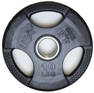 10Lb Troy USA Rubber Grip Plate - GP-010R