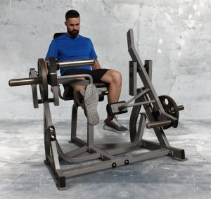Fettle Fitness Iso Lateral Leg Extension