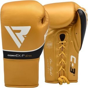 RDX Boxing Gloves Leather Pro
