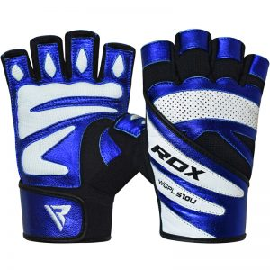RDX Gym Glove Paper Leather S10