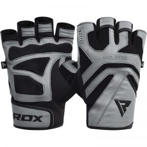 RDX Gym Glove Leather S12