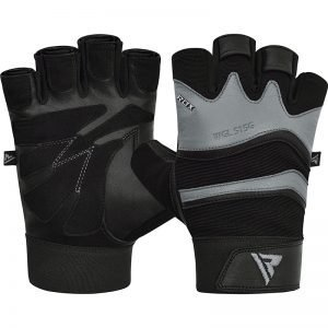 RDX Gym Glove Leather S15