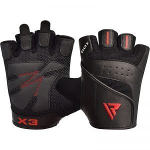 RDX Gym Glove Leather S2