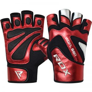 RDX Gym Glove Paper Leather