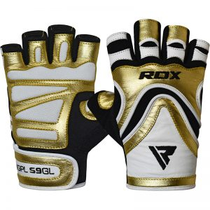 RDX Gym Glove Paper Leather S9