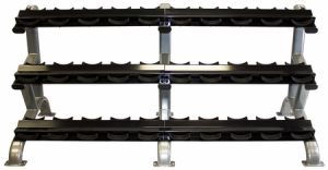 Troy 3 Tier 15 Pair Dumbbell Saddle Rack - DR-15