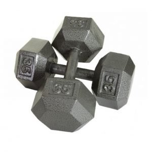 30Lb Troy USA Hex Dumbbell - IHD-030