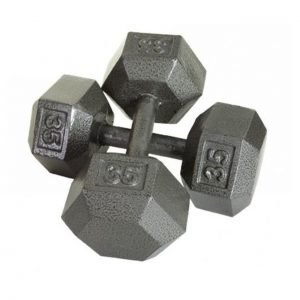 45Lb Troy USA Hex Dumbbell - IHD-045